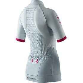 X-Bionic Race EVO Biking Shirt SS Women Grey/Raspberry